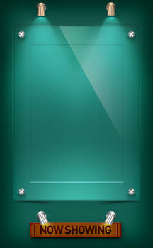 Acrylic Poster Frame psd by NishithV