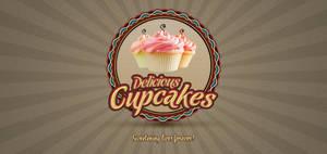 Cupcake Logo V1 PSD