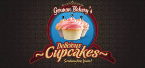 Cupcake Logo V3 PSD
