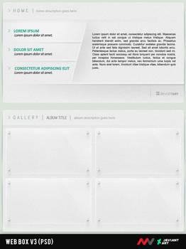 Web Box V3 PSD