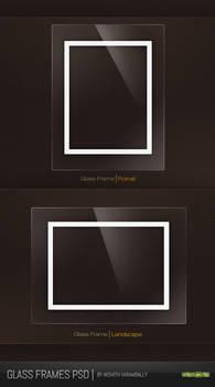 Glass Frames PSD