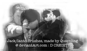 Jack and Ianto Brushes