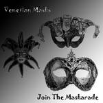 Venetian Mask Brushes