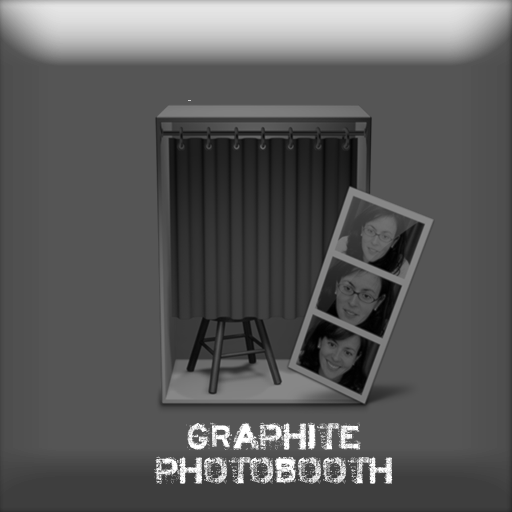 Graphite Photobooth Dock Icon by sek94