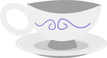 Vector - Cup and Saucer by MisterAibo