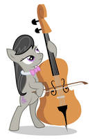 Animation - Octavia Playing Cello by MisterAibo