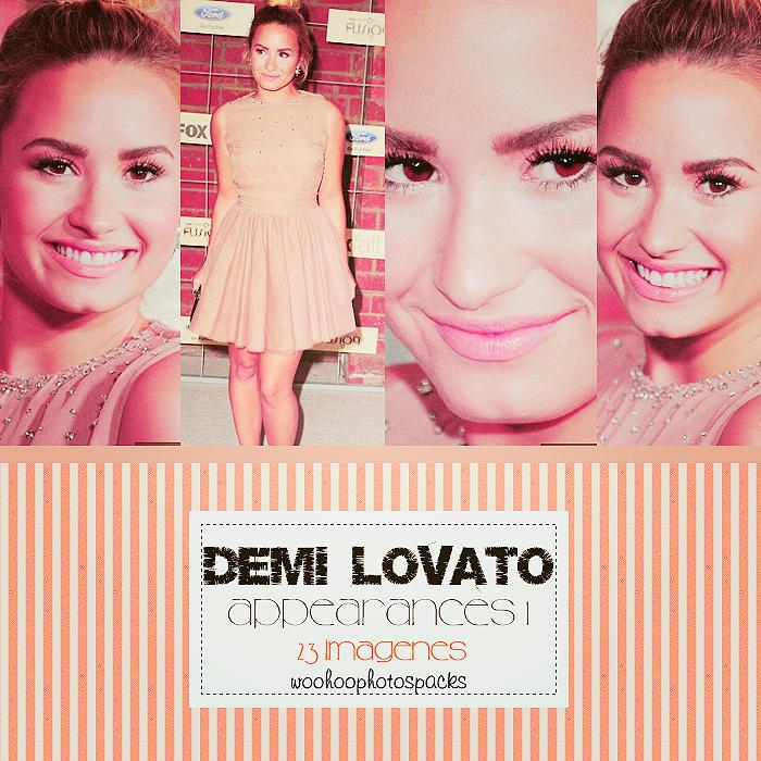 Appearances Demi Lovato 1 by WooHoophotospacks