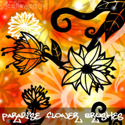Paradise Flower Brushes