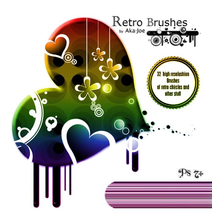 Retro Brushes by Aka-Joe
