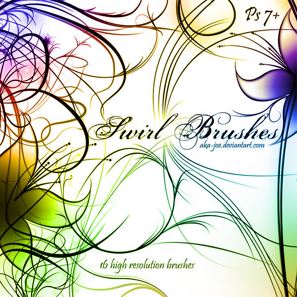 Swirl Brushes by Aka-Joe
