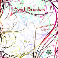 Swirl Brushes - Volume 2 by Aka-Joe