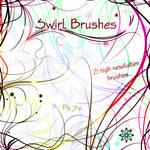 Swirl Brushes - Volume 2 by Aka-Joe