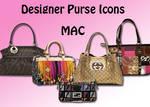 Designer Purse Icons