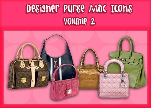 Designer Purse Icons Vol. 2 by princessang2644