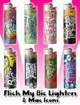 Flick My Bic Lighter Icons