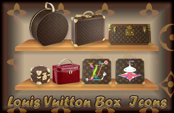 Louis Vuitton Box Icons