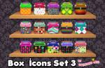 Box Icons Set 4