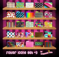 Folder Icons Set 3 by princessang2644