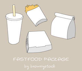 Fastfood Package by brownystock