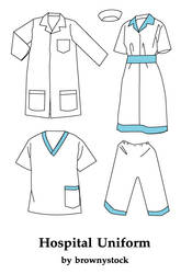 Hospital Uniform by brownystock