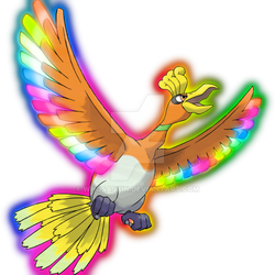 Color Changing Ho-oh