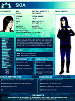 Young justice OC Skia by Anemoi-Anemi