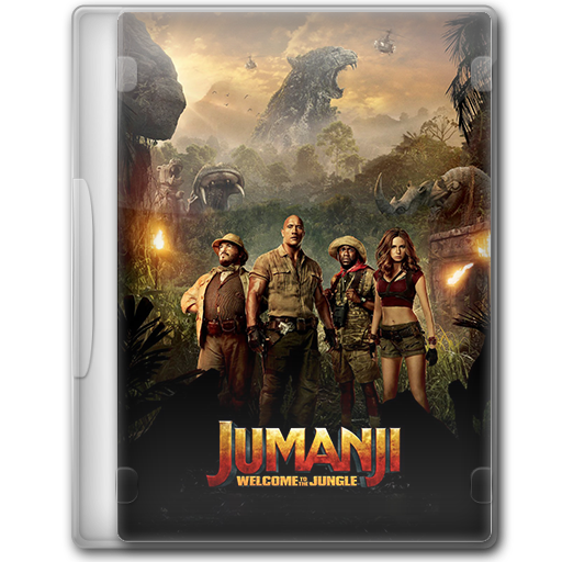 Jumanji - Welcome To The Jungle by konamy23