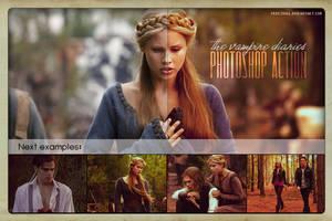 PS Action - Vampire Diaries by freezinka