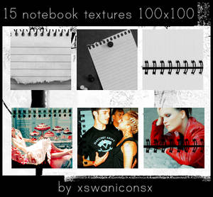 15 notebook textures