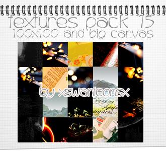 Texture Pack 15 by xsleepingswanx