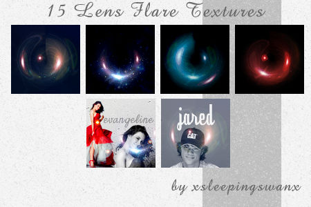 Lens Flare Textures