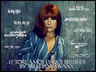 Tori Amos Lyrics Brushes