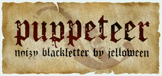 Font: PUPPETEER - free