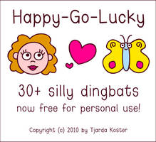 Font: HAPPY-GO-LUCKY - free