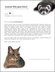CSS 01 - Kitty Cat by jelloween