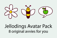 Jellodings Avatar Pack by jelloween