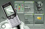 Deviant cellphone theme
