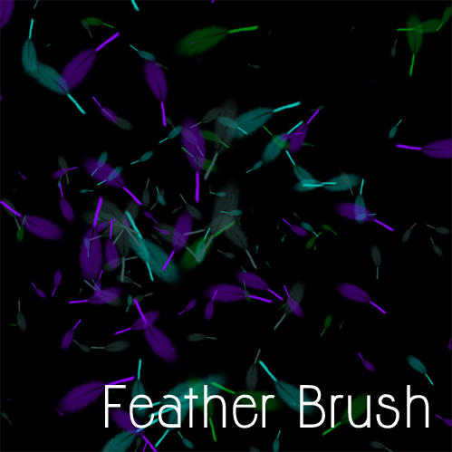 Feather Brush by powerfulnightmare