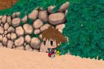 MMD WOFF (World of Final Fantasy) Sora