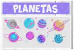 Packs Planetas PNG