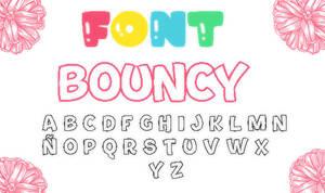 Font Bouncy