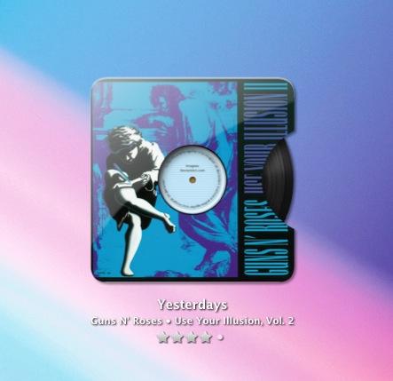 Vinyl Hole Theme for TunesArt