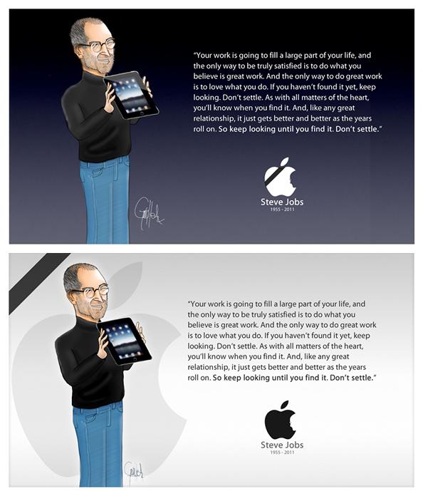 Tribute Steve jobs