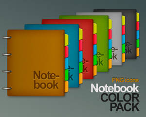 Colored Leather Notebook
