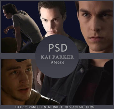 Kai Parker - 13 Pack Pngs PSD