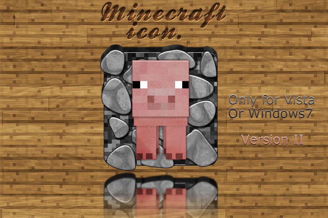 Minecraft Icon, Version. II by Schulerr