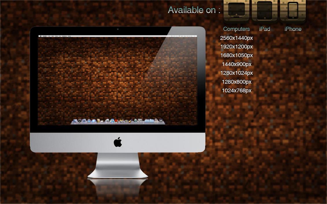 Most Inspiring Wallpaper Minecraft Simple - simple_minecraft_wallpaper_by_schulerr-d48twjb  2018_593593.jpg