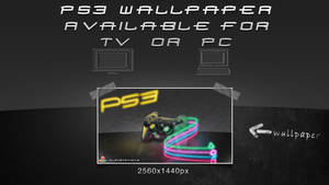 PS3 Light Painting Wallpaper by Schulerr