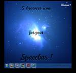 5 Browser Icons Spacebar