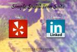 Simple Social Icon Suite
